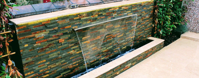 Green Acorn Landscape Design Water Feature