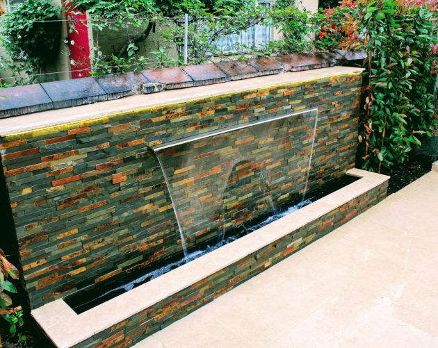 Green Acorn Landscape Design Water Feature